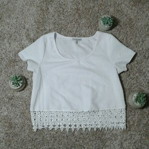 White Charlotte Russe top